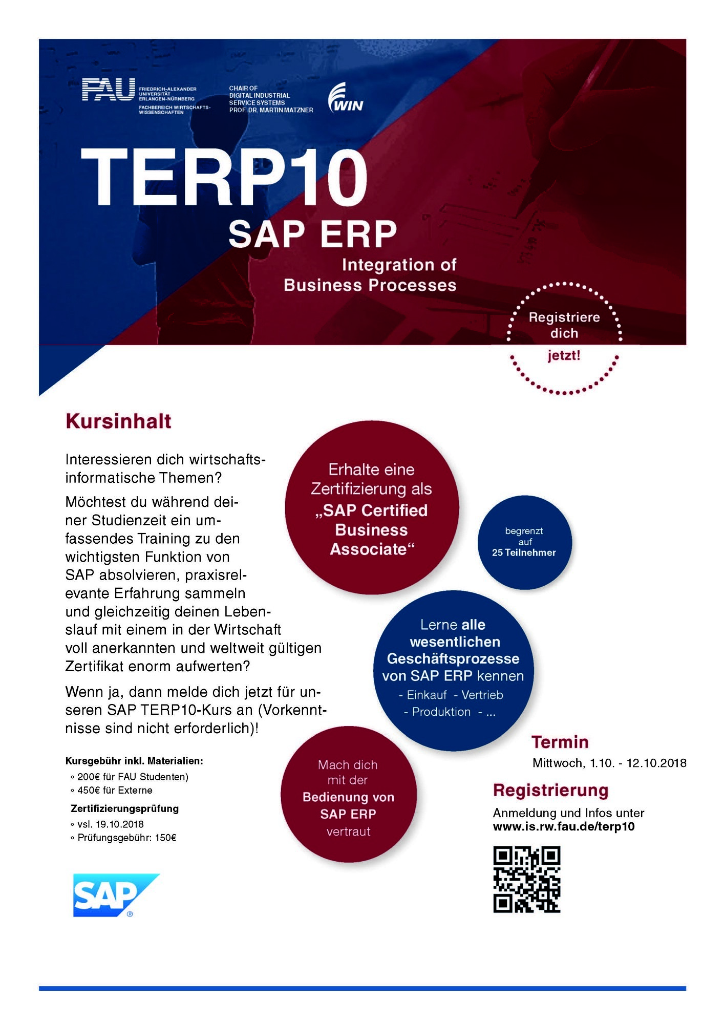 "Towards entry ""Next run of SAP TERP10 course in October: Registration now open! (Fully booked)"""