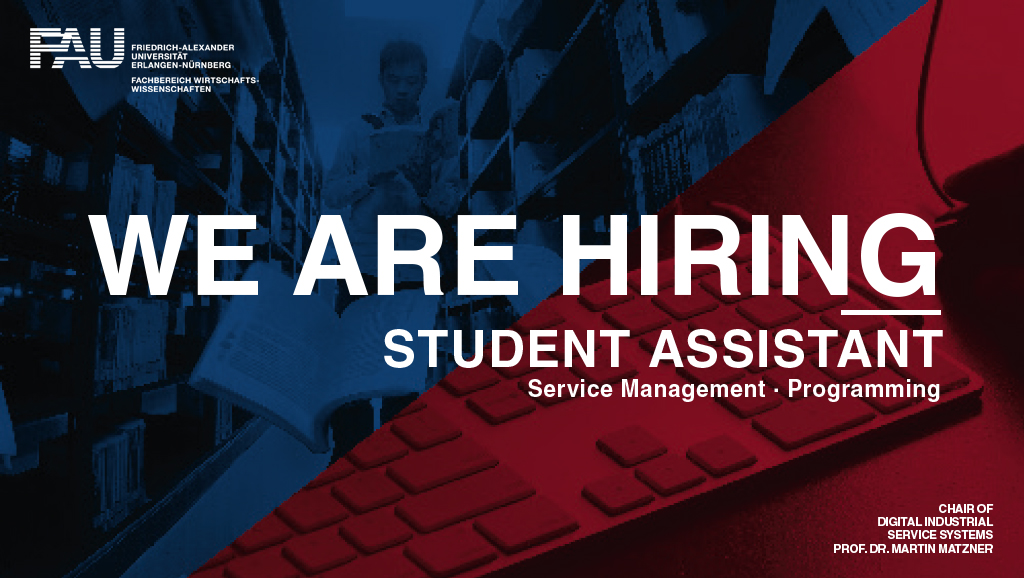 "Towards entry ""The chair is hiring: Student Assistants"""
