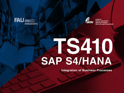 "Towards entry ""The registration for the training TS410 – Integrated Business Process in SAP S/4 HANA is now open!"""